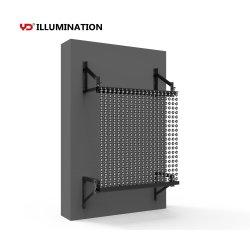 커튼 디스플레이 실외 광고용 소형 조절식 LED 스크린 LED 디스플레이 화면