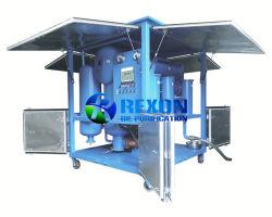 La máquina de purificación de aceite de transformadores con una fuerte depresión del sistema de deshidratación