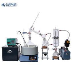 2L 5L 20L 실험실 진공 CBD 분획 분단기 경로 디스틸러 장비 추출 유리 숏 패스 증류 키트 전용