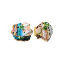 2019 Venta caliente en la playa de resina decorado artesanal de joyería hecha a mano.