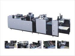 Essiccazione automatica a raggi UV essiccazione stampante incollaggio vuoto di vernice Macchina per laminazione (SAFM-800)