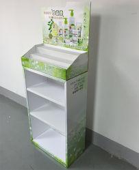 이용된 항균제 Hand-Washing 해결책을 광고하는 손 세탁기술자 진열대