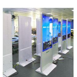 Les fabricants de la Chine usine portable 55 pouces à l'intérieur de la signalisation numérique sur le marché d'affichage