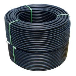 DN 250 mm de PVC negro PE PE100 Tubo de HDPE de gases de efecto/Coupling/pesca/rociador