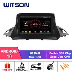 شاشة عرض Wittson 9' بنظام Android 10 مشغل أقراص DVD للسيارة GPS لـ فورد Kuga 2013-2018