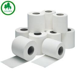 La madera suave toque de papel higiénico o rollo de bolsillo