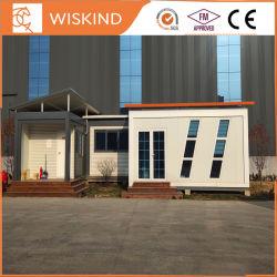 China 20ft moderno de lujo móviles prefabricadas planos de acero prefabricados modulares Pack Contenedor de la casa de Villa / oficina / Hospital / Quanrantine Casa