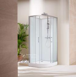 Cabine de douche/ douche/ porte coulissante en verre pour salle de bains : cabine de douche Quadrant comme2817T