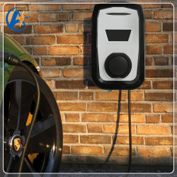 صندوق حائط من النوع 2 16 أمبير 3.7 كيلو واط، تيار متردد أحادي الطور EV شاحن للسيارات الكهربائية