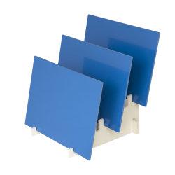Pp.-fester Vorstand für die chemischen Becken von der 2mm-40mm Farbe natürlich und blau