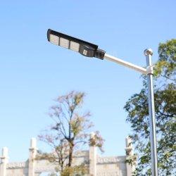 Все в одном интегрированном корпус литой алюминиевый корпус для использования вне помещений светодиодные лампы на улице солнечной энергии с литий / Гелиевый аккумулятор