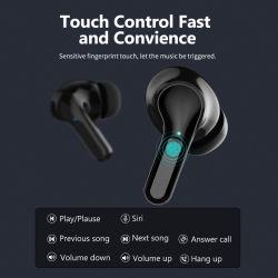 Mejor oído en el sensor inteligente impermeable Deportes auriculares inalámbricos Bluetooth Auriculares Bluetooth el auricular inalámbrico de 50 auriculares auriculares auriculares