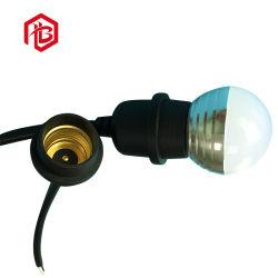 Les connecteurs des feux E27 électrique fiche femelle mâle/caoutchouc PVC/nylon