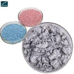 Bom Efeito de prata colar e pigmentos em pó de alumínio para Masterbatch e injeção de plástico