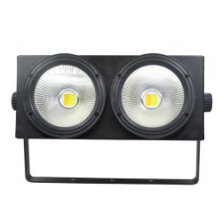 2 parti di bianco freddo di 100W + PANNOCCHIA calda LED di bianco 2in1 per esterno