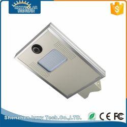 5W para 150W integrado Luminaria exterior tudo numa rua Jardim Luz Solar de LED com CCTV
