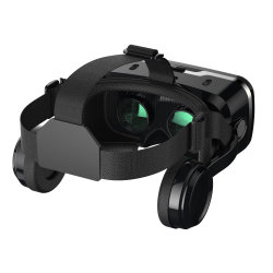 Óculos 3D Shinecon Vr para fone de ouvido 4.7-6.0 Polegadas Smartphones Ios Android