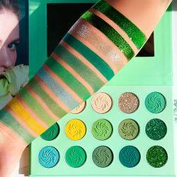 De langdurige Waterdichte Minerale Kosmetische Uitrusting van de Make-up van de Oogschaduw van het Poeder