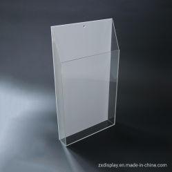 Acrylbroschüre-Halter für Flugschrift-Bildschirmanzeige