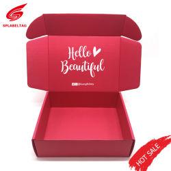 Dom de armazenamento de luxo personalizado jóias de Embalagens de Papelão Ondulado Kraft Vigilância Perfume Carton Caixa de papel