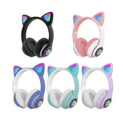 Новая беспроводная Cat вкладыши гарнитуры Bluetooth детей Headbands наушников с индикатором