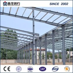 Secção H Prefab Estrutura de aço de construção da estrutura do manual