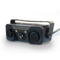 車の健全なアラームが付いている1台のカメラの駐車センサーに付き自動駐車センサー3台