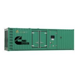 Alimentation d'usine 1000KW/1250kVA Water-Cooled Conteneur de type silencieux avec ce groupe électrogène diesel
