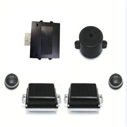 Carro Ponto Cego do Sistema de Detecção de mudança de faixa de ondas milimétricas Sensor do Radar