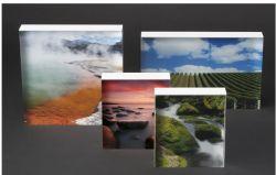 La haute transparence du cadre photo Customrized Bloc acrylique