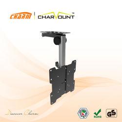 Parentesi di morsetto registrabile dell'affissione a cristalli liquidi TV dell'argento o del nero (CT-LCD-KM202)