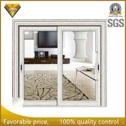 Duas pegas grandes painéis de portas quebra térmica do vidro de porta corrediça da porta de alumínio