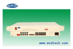 El 30 de Voz del canal FXO/FXS sobre fibra multiplexor PCM +1-2*100m de Ethernet (48V).