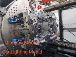 De plástico de personalização do carro do molde da lâmpada lente dos faróis do molde de injeção, LED Auto cabeça do carro da Lâmpada do Farol da máquina de moldagem