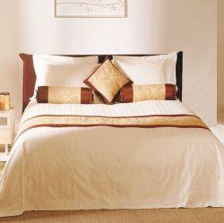 Hotel-Bettwäsche-gesetzter Bett-Blattduvet-Abdeckung-Kissen-Kasten