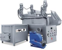 أوكازيون ساخن للفحم / الغاز - ماكينة القلي التي تعمل بالوقود