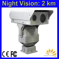 1km Projector de infravermelhos com laser de visão nocturna