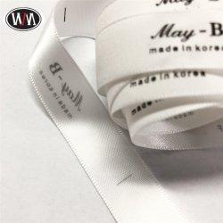 Lavable personnalisé Imprimer étiquette de vêtement tissés/Vêtements