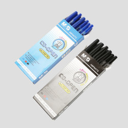هدايا الشركات قلم كروي بحجم 1.0 مم أقلام حبر ذات سن كروي مريحة