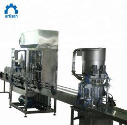 Macchina di coperchiamento automatica della bottiglia di vetro dell'inserimento di pomodoro dell'imbottigliatrice