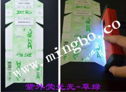 Fluorescent UV a base d'acqua Ink per Security Printing