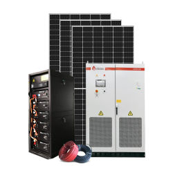 10 kw 20 kw 30 kw 50 kw 100 kW 1 MW hybride zonne-energie opslag Generator System 480V Home Commercial Grid Solar Power PV Kit