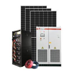 10kw 20kw 30kw 50kw 100kw 1MW Solar Híbrido de armazenamento de energia do sistema do gerador 480V Home grade comercial de Energia Solar Kit PV