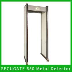 Secugate 550m Smart Check Security Metal Detector Gate Security Walk (المشي الآمن عند بوابة الكاشف المعدني) من خلال بوابة الكاشف المعدني