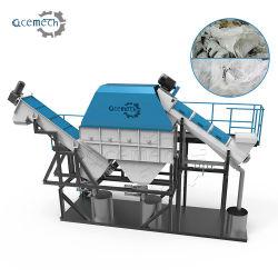 Plastic PE van het afval LDPE Agricultrual en de Industriële het Winkelen van de Zak van de Film pp Jumbo Geweven Zak Geweven Machine van het Recycling van de Was van de Zak Verpletterende