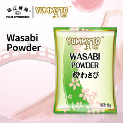 Haute qualité Yummyto Wasabi en poudre 1 kg de style Japonais Sushi de marque d'assaisonnement