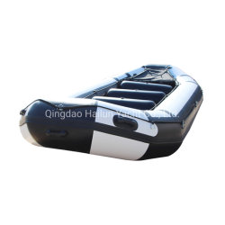 Foldable PVC Hypalon 팽창식 고무 급류 강 로잉 뗏목