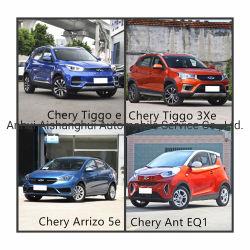China Top Brand Chery gebruikte elektrische auto's in New Condtion Model 2018 2019 Tiggo E Tiggo 3xe Arrizo 5e Ant EQ1 SUV Sedan Hatchback Nedc401/351/251km