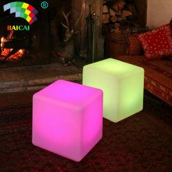 16 طرق وميض الألوان أثاث مكعّبات LED مقاومة للماء