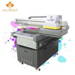 Stampante di getto di inchiostro a base piatta 6090 di formato largo UV UV della stampante 3D 600mm*900mm